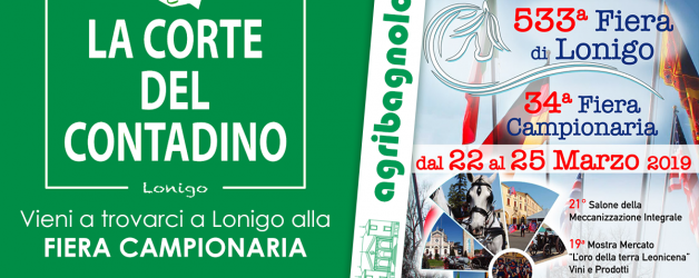 Fiera di Lonigo 22/25 Marzo 2019 – La Corte del Contadino